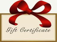 Mulberry Farms Gift Certificates
